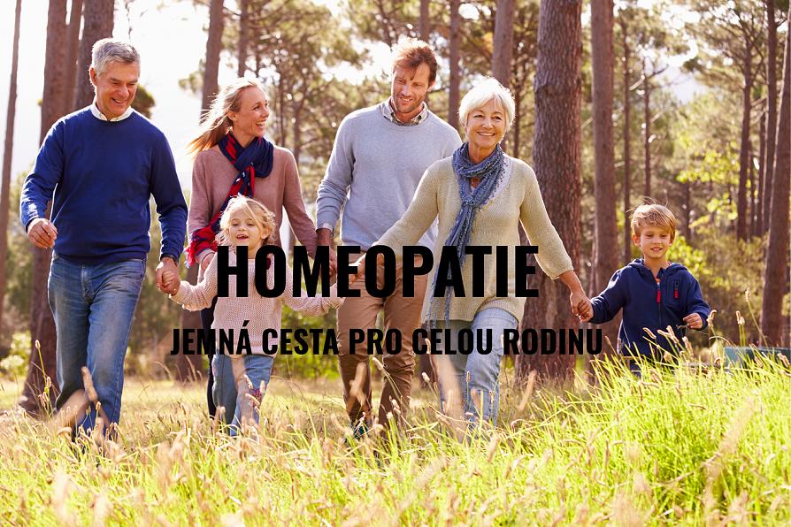 Homeopaticky - jemně k pohodě a aktivitě