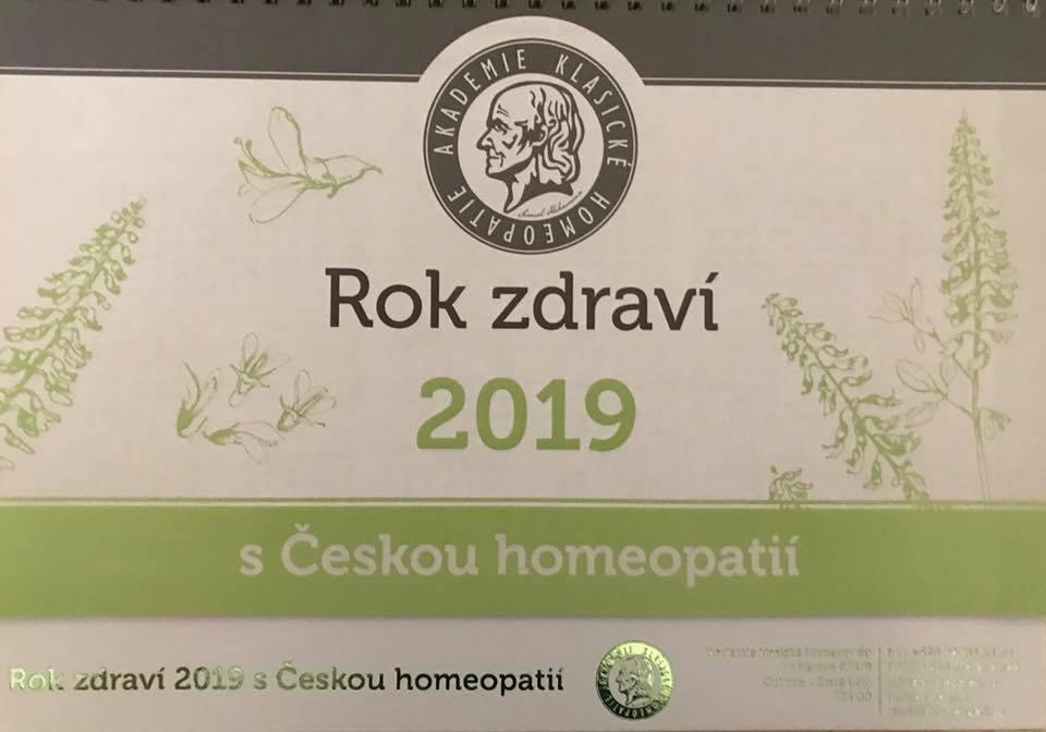 Stolní kalendář jako dárek zdarma k objednávce nadd 600,- s alespoň 1ks homeopatik akh