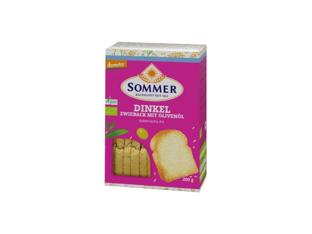 13200 6 x sommer co bio chlebove suchary italske 200g