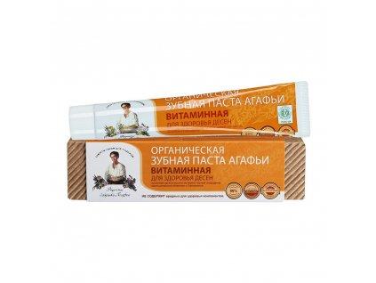 organicka zubni pasta vitaminova zdrave dasne 75ml od agaty