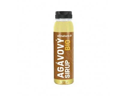 allnature agavovy sirup bio 250 ml