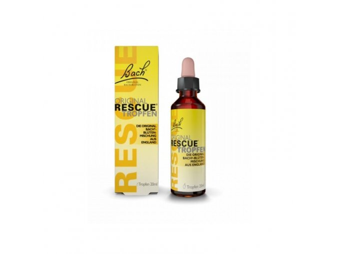 rescue remedy 20ml s alkoholem
