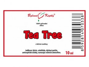 tea tree 100 prirodni silice esencialni etericky olej 10 ml