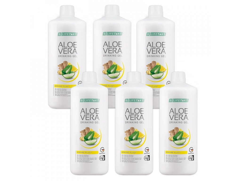 LR LIFETAKT Aloe Vera Drinking Gél Immune Plus Séria 6 x 1000 ml