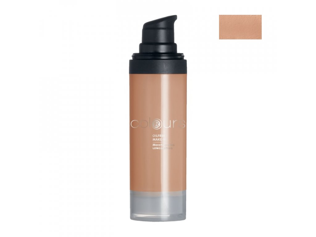 LR Colours Bezolejový make-up (odtieň Dark Sand) 30 ml