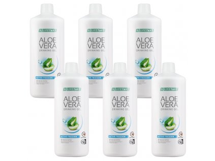 LR LIFETAKT Aloe Vera Drinking Gél Active Freedom Séria 6 x 1 000 ml