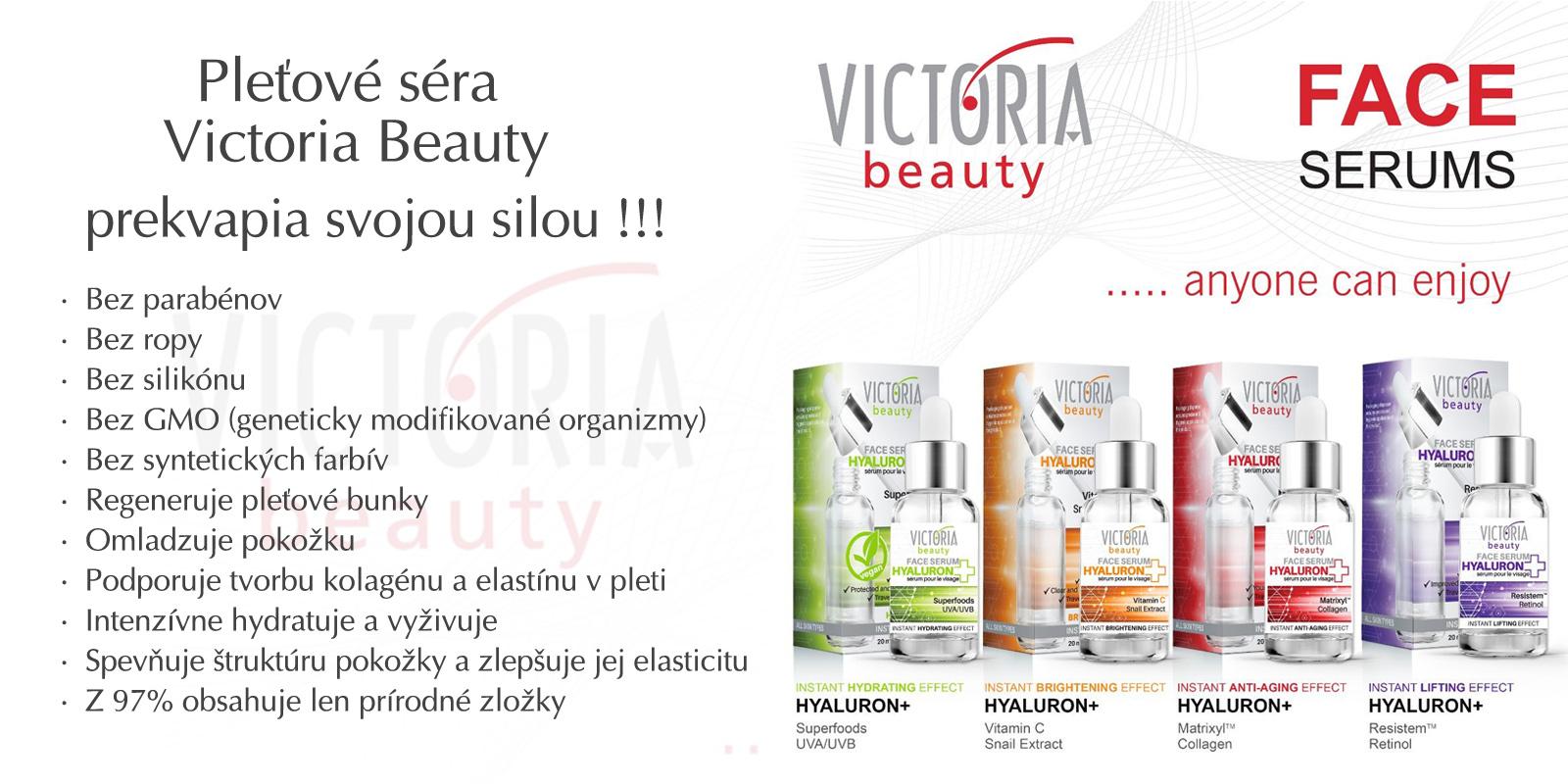 Victoria Beauty pleťové séra