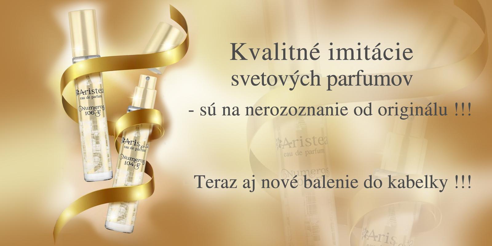 malé parfémy