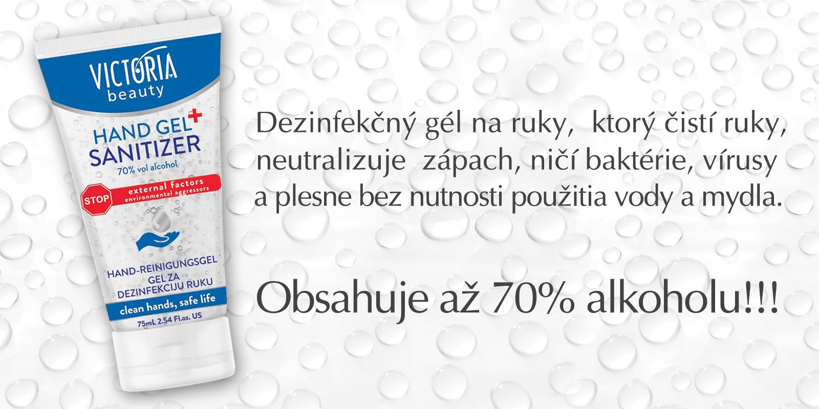 dezinfekčný gel