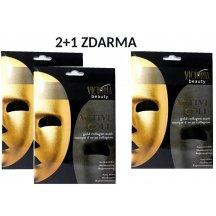 Victoria Beauty Zlatá kolagénová maska, AKCIA 2+1