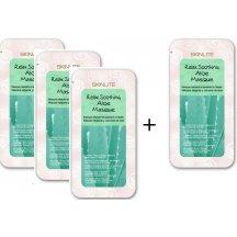 Skinlite Upokojujúci kolagénová maska s Aloe vera, AKCIA 3+1