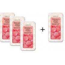 Skinlite Kolagénová krémová maska s jogurtom a s výťažkom z jahôd, AKCIA 3+1