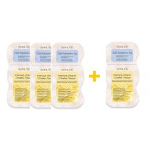 Skinlite Pleťová maska 2v1 peeling a výživa, AKCIA 3+1