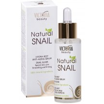 Victoria Beauty Natural Snail HYDRA - REST, protivráskové sérum so slimačím extraktom, 30ml