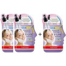 Purederm Dvojfázová spevňujúca liftingová maska na krk, krémová maska + hydrogelová náplasť na krk  , AKCIA 2 + 1 zdarma