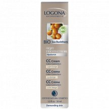 Logona - Anti Age Protection CC krém Light Beige