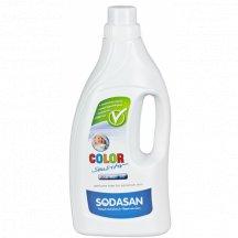 SODASAN - COLOR Sensitiv tekutý prací prostriedok na farebne prádlo bez esenciálnych olejov 1.5l