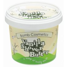 Bomb Cosmetics Telový sprchový krém - Vanilka pre extrémne suchú pleť, 320 g