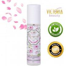 Victoria Beauty Roses and Hyaluron Micelárna voda s ružovým olejom a kyselinou hyalurónovou, 150 ml