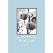 Bridgewater Candle Company Vonné vrecko WHITTE COTTON, 12 x 18 cm