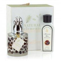 Ashleigh & Burwood Darčekové balenie katalytická lampa COFFEE BEANS s vôňou Moroccan SPICE (marocké korenie) 180ml