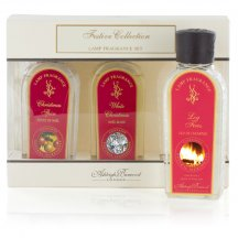Ashleigh & Burwood Náplne do katalytických lámp CHRISTMAS SPICE, WHITE CHRISTMAS a LOG FIRES 3x180ml