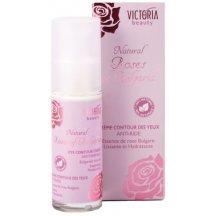 Victoria Beauty Natural Roses Protivráskový očný krém s ružovým olejom, 30 ml
