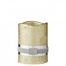 Lene Bjerre Dekoratívna sviečka CANDLE LED zlatá 7,5 x 10 cm