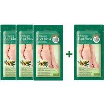 Skinlite Zlupovacie ponožky na nohy s papájov AKCIA 3 + 1