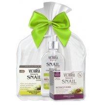 Victoria Beauty Snail Extract Darčekový set zabalený v darčekovom organzovom vrecúšku