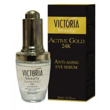 Victoria Beauty Active gold 24K Zlaté očné sérum, 20 ml