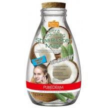 Purederm Ultra hydratačná pleťová maska s bambuckým maslom a kokosom, 15ml