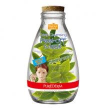 Purederm Hlboko čistiaca zlupovacie maska - Zelený čaj, 10ml