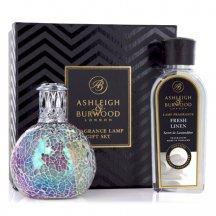 Ashleigh & Burwood Darčekové balenie Malá katalytická lampa FAIRY BALL s vôňou FRESH LINEN , 250 ml