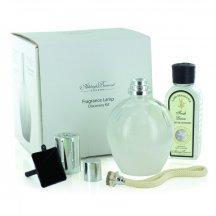 Ashleigh & Burwood Darčekové balenie Veľká katalytická lampa WHITE s vôňou FRESH LINEN