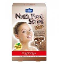 Purederm Čistiace pásky na nos Kakaové bôby, 6 ks