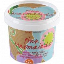 Bomb Cosmetics Jemný Sprchový Peeling Ružová Marmeláda, 400 ml