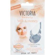 Victoria Beauty Kolagénová liftingová očná maska Mlieko a med