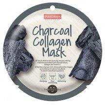 Purederm Pleťová buničitá maska s aktivným uhlíma kolagénom