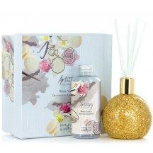 Ashleigh & Burwood Difuzér ARTISTY GOLDEN ORB s vôňou WHITE VANILLA (biela vanilka), 180 ml,