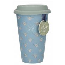 Creativ Tops Cestovný hrnček porcelánový Bulb & Bloom, 290 ml