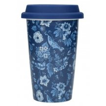Creativ Tops Cestovný hrnček porcelánový V&A modrý