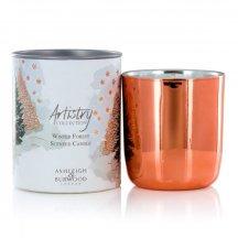 Ashleigh & Burwood Vianočná vonná sviečka ARTISTRY - WINTER FOREST (zimný les), 200 g