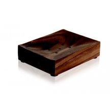 Miska pod tuhé mydlo z akátového dreva ACACIA