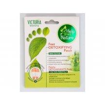 Victoria Beauty Detoxikačné náplaste na nohy, 1pár