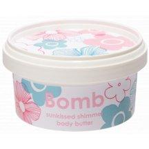 Bomb Cosmetics Slnečne trblietavé telové maslo,200ml