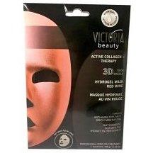Victoria Beauty Aktívne kolagénová hydrogelová 3D maska s červeným vínom