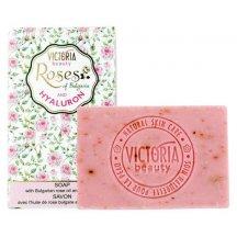 Victoria Beauty Mydlo Roses and hyaluron s kyselinou hyalurónovou, 70 g