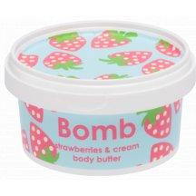 Bomb Cosmetics Telové maslo JAHODA, 200 ml