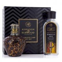 Ashleigh & Burwood Darčekové balenie Malá katalytická lampa AFRICAN QUEEN s vôňou Moroccan Spice 250 ML